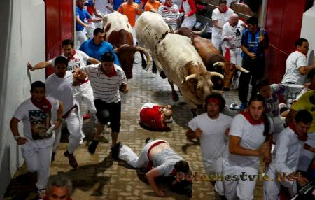 Сан-Фермин - праздник в Испании