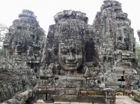 Храм Байон в Камбодже