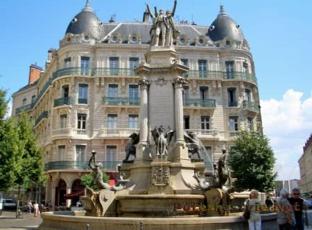 Французский город Гренобль