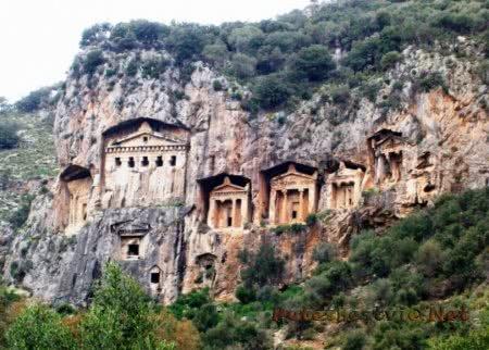 Город-курорт Дальян в Турции