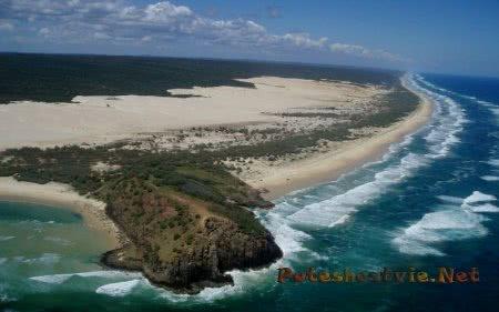 Австралийский остров Фрейзер