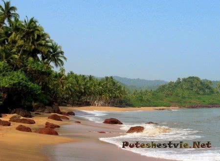 Красивые пляжи на Гоа