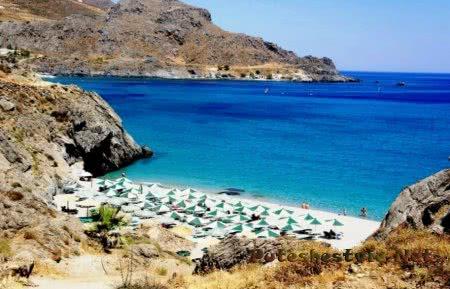 Популярные пляжи острова Крит