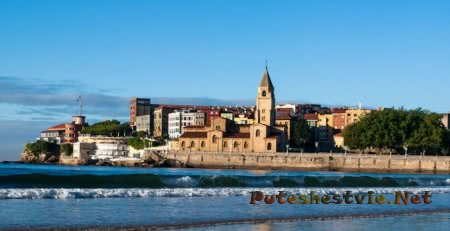 Курорты на Атлантическом океане в северной Испании