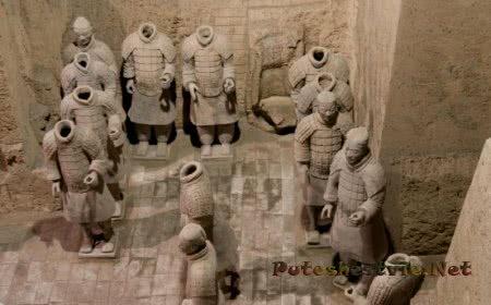 Терракотовая армия Цинь Ши Хуан Ди
