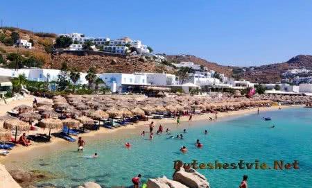 Пляж Платис Гиалос