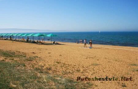 Детский пляж ДЗО Айвазовский