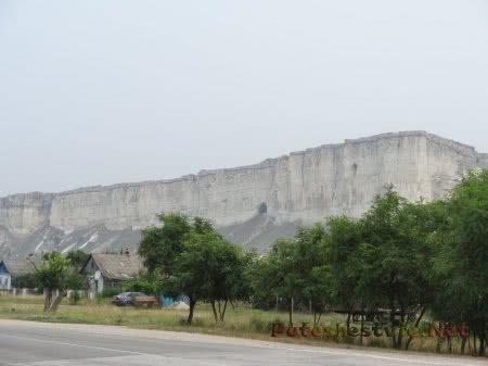 Ак-Кая - Белая Скала около Старого Крыма