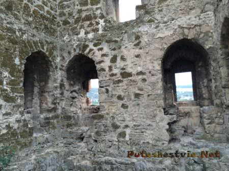 Древняя феодосийская башня внутри