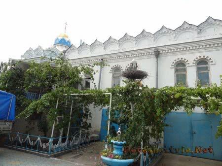 Двор Церкви Святой Екатерины