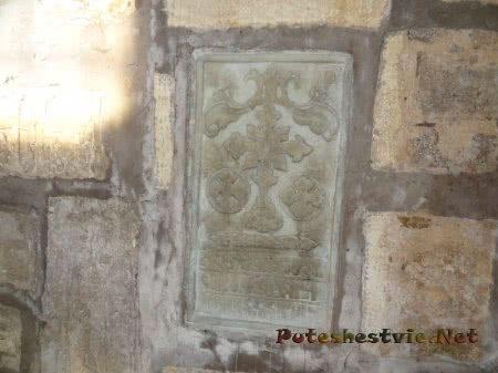 Разновидность хачкара в Церкви Сурб Саркис