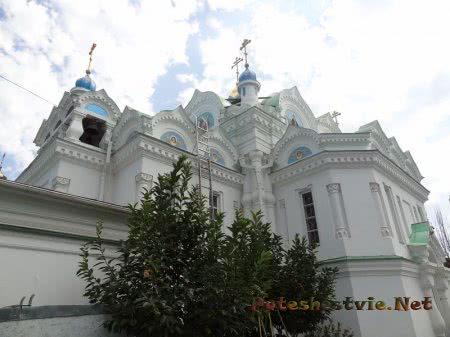 Здание феодосийской Церкви Святой Екатерины