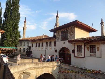 Мостик к Дворцу Бахчисарай