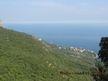 Лесистые горы Крыма