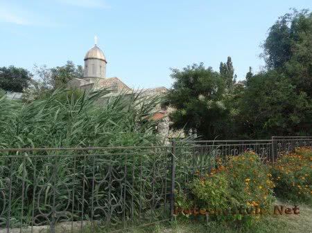 Храмовая территория на Карантинном холме Феодосии
