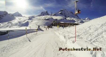 Швейцарский горнолыжный курорт Церматт
