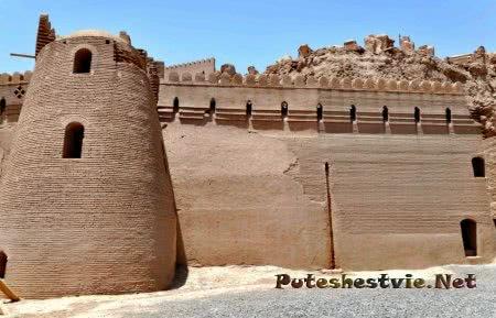 древняя иранская крепость Арг-е Бам