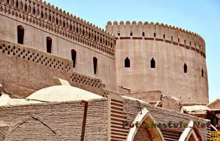 древняя Бамская крепость Ирана