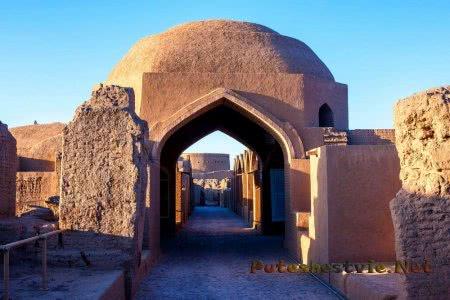 иранская крепость Арг-е Бам