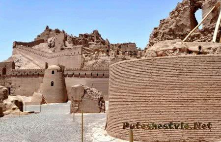 крепость в Иране Арг-е Бам
