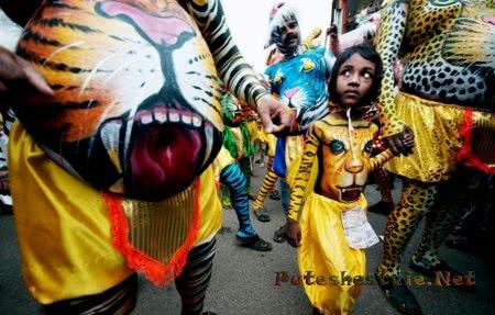 Онам - праздник в Индии