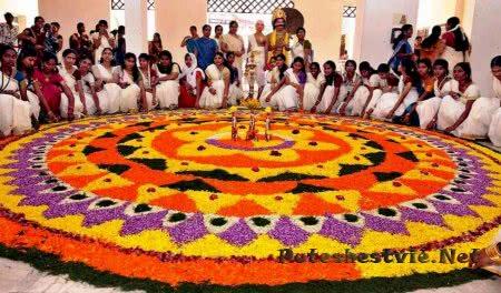 Онам праздник урожая в Индии