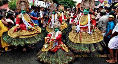 Индийский Фестиваль Онам