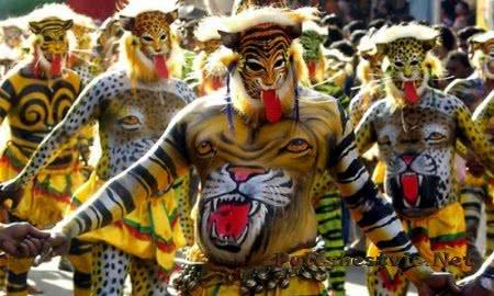 Праздник Онам в Индии