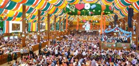 пивной фестиваль в германии октоберфест