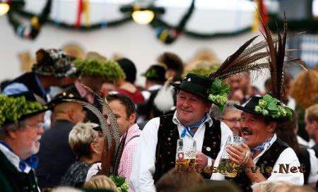пивной праздник октоберфест в мюнхене