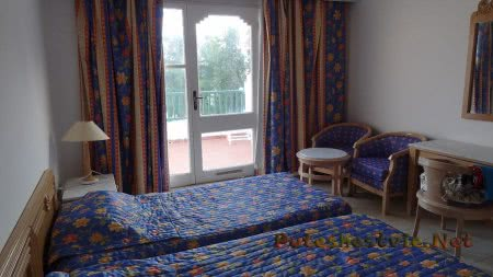 Вид на номер отеля Эль Муради Бич