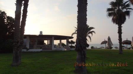 Кафе на территории отеля Эль Муради Бич