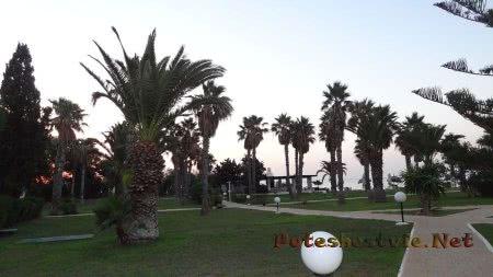 Раннее утро в отеле Эль Муради Бич в Хаммамете