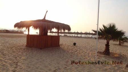 Маленький бар на пляже отеля Эль Муради Бич