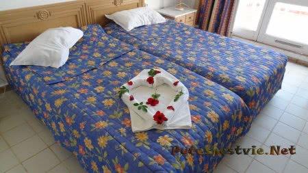 Комлимент от горничной отеля Эль Муради Бич постояльцам