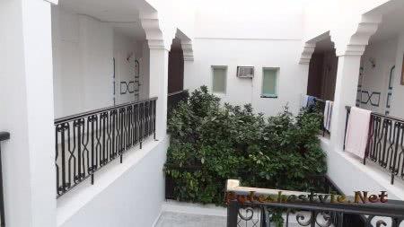 Внутри коридоров отеля Эль Муради Бич