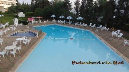 Бассейн отеля Эль Муради Бич в Хаммамете