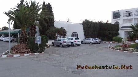 Парковочные места в отеле Эль Муради Бич