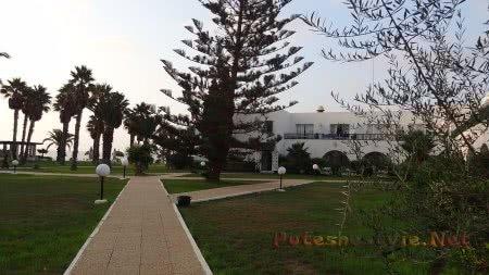 Внтуренний дворик отеля Эль Муради Бич Хаммамета