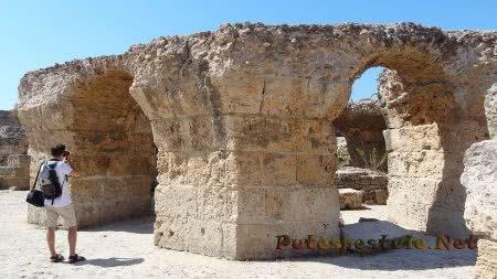 Что осталось от римсктх бань Карфагена