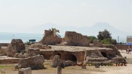 Что осталось от римских тер в Карфагене