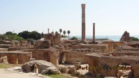 Трубы римских терм Карфагена