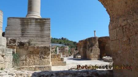 Руины от строений римских терм