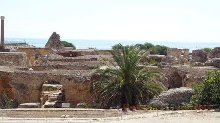 Римские термы города Карфаген