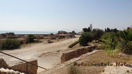 Римские термы Карфагена