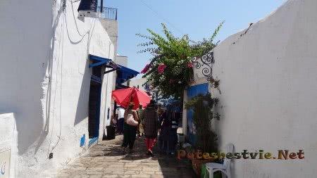 Старинные улицы Сиди-бу-Саида