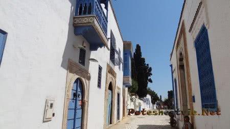 Сиди-бу-Саид - город романтиков и художников в Тунисе