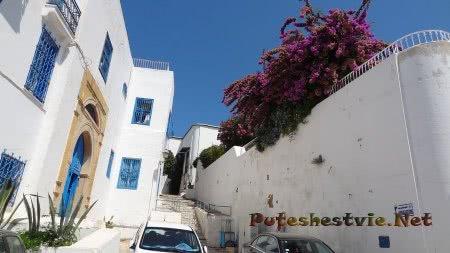 Сиди-бу-Саид - самый романтичный город Туниса