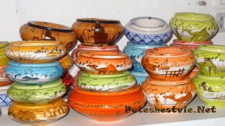 Керамическая посуда из Туниса