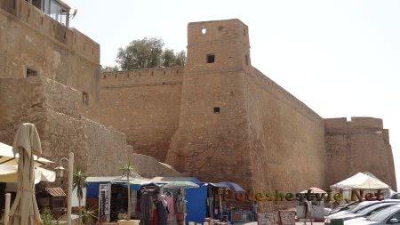 Стены хаммаметской крепости